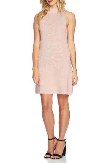 1.state Mock Neck Sweater Dress, Pink