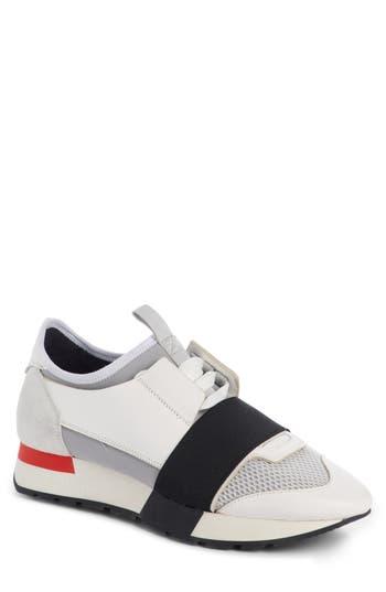 Balenciaga Mixed Media Trainer Sneaker