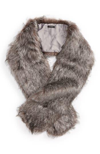 Halogen® Faux Fox Fur Stole