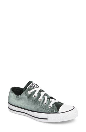 Converse Chuck Taylor All Star Seasonal Ox Low Top Sneaker, Green