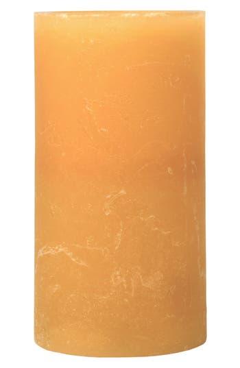 Amazing Flameless Candle Honey Artisan Flameless Candle, Size One Size - Orange