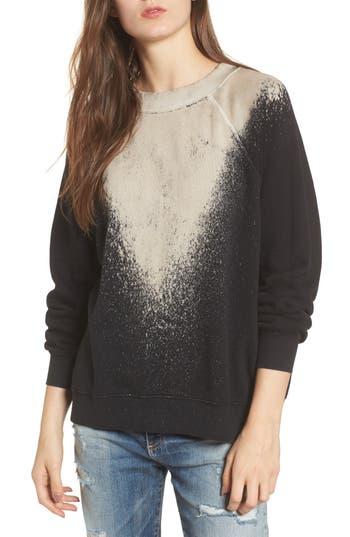 Women's Wildfox Stardust - Sommers Sweatshirt, Size X-Small - Black