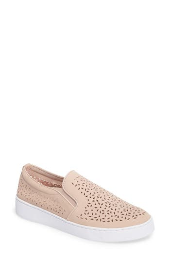 Vionic Perforated Slip-On Sneaker, Pink