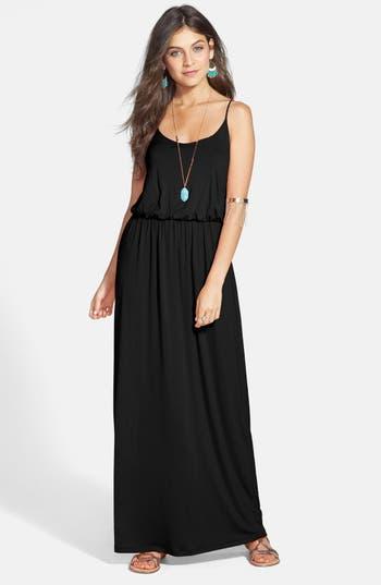 Lush Knit Maxi Dress, Black