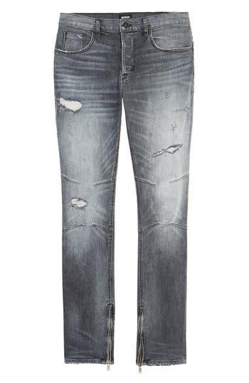 Hudson Jeans Vaughn Skinny Fit Jeans, Black
