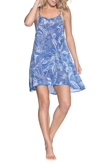 Maaji Biscuit Lion Cover-Up Dress, Blue