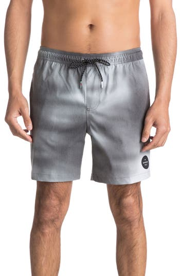 Quiksilver Haze Volley Shorts, Black