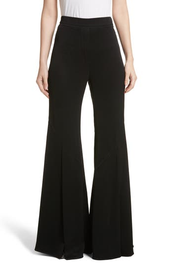 Ellery Higher & Higher Wide Flare Leg Pants, US / 8 AU - Black