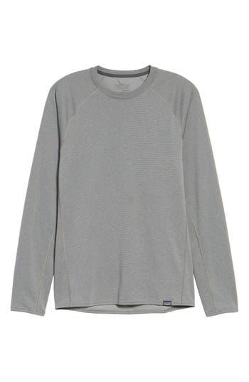 Patagonia Capilene Midweight Base Layer T-Shirt, Grey