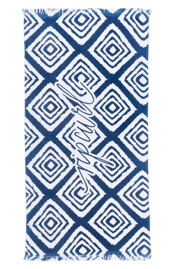 Rip Curl Bazaar Beach Towel, Size One Size - Blue