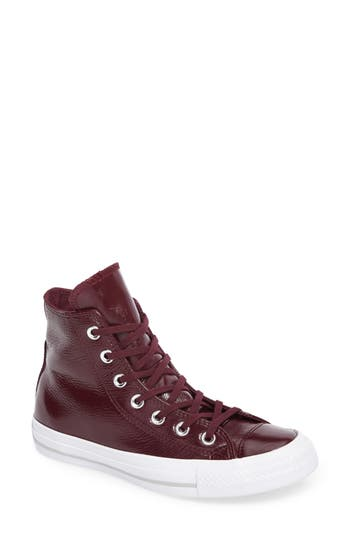 Converse Chuck Taylor All Star Seasonal Hi Sneaker, Burgundy