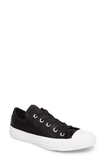 Converse Chuck Taylor All Star Seasonal Ox Low Top Sneaker- Black
