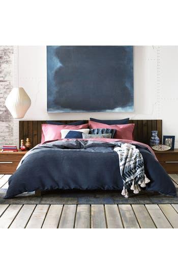 Tommy Hilfiger Vintage Pleated Comforter & Sham Set, Size Twin - Blue