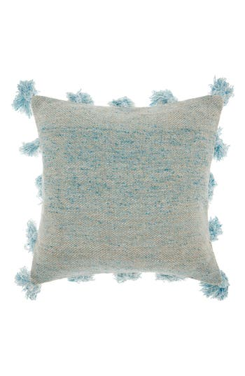 Mina Victory Canvas Accent Pillow, Size One Size - Blue