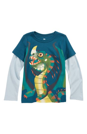 Boys Tea Collection Stoorworm Layer TShirt