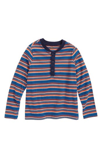 Boys Tea Collection Ugie Stripe Henley TShirt