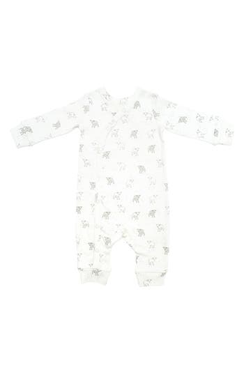 Infant Girls Petit Pehr Little Lamb Romper Size 36M  Ivory