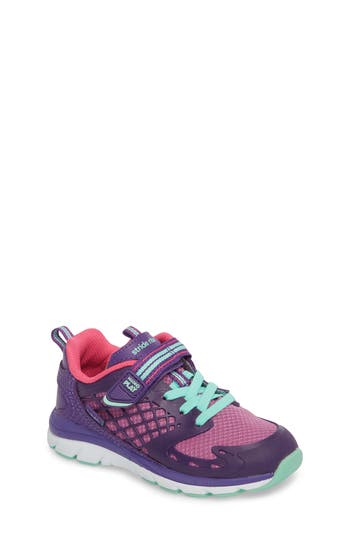 Toddler Stride Rite Made2Play Cannan Lace Sneaker Size 6 M  Purple