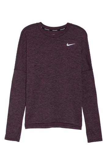 Nike Therma Sphere Element Running Top, Red