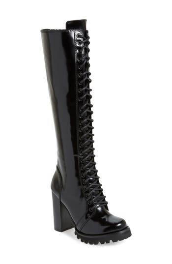 Jeffrey Campbell Legion Knee High Boot, Black