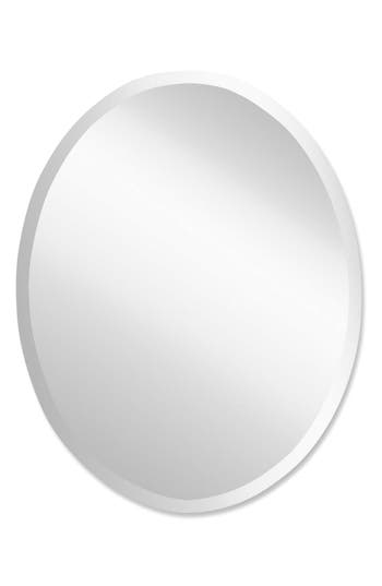 Uttermost Oval Mirror, Size One Size - Grey