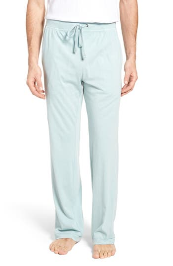 Men's Daniel Buchler Peruvian Pima Cotton Lounge Pants, Size Small - Blue