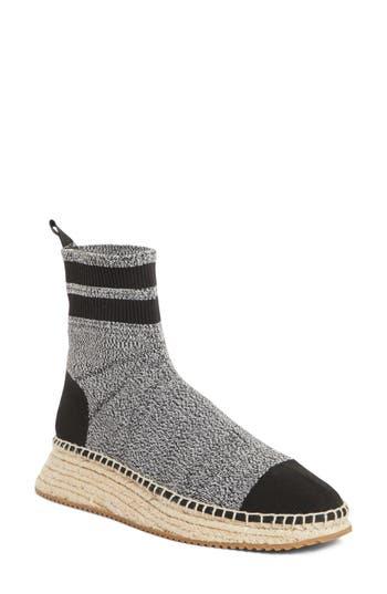 Alexander Wang Dylan Sock Boot, Grey