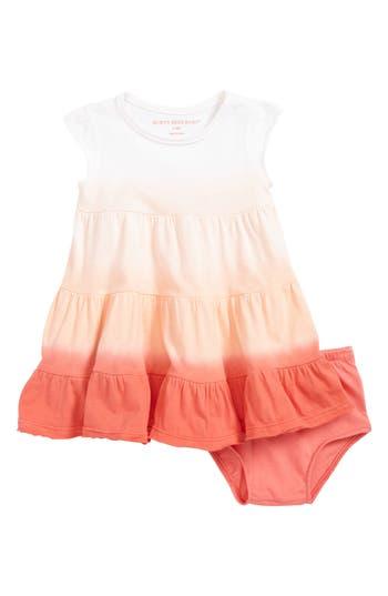 Infant Girls Burts Bees Baby Dip Dye Organic Cotton Dress