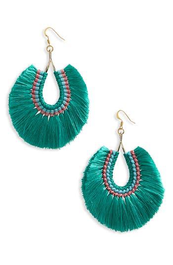 Women's Panacea Fan Tassel Earrings