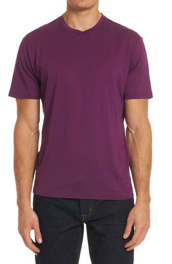 Men's Robert Graham Neo T-Shirt, Size Small - Purple
