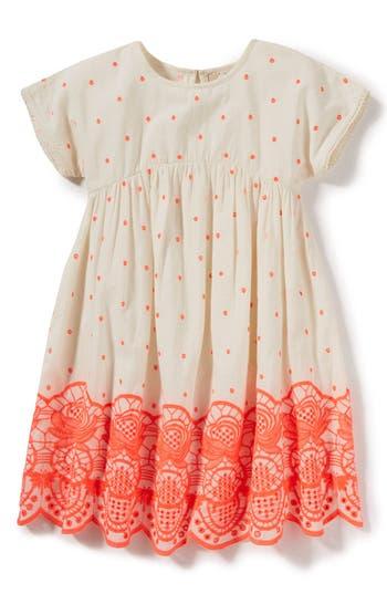 Girls Peek Sun Embroidered Dress