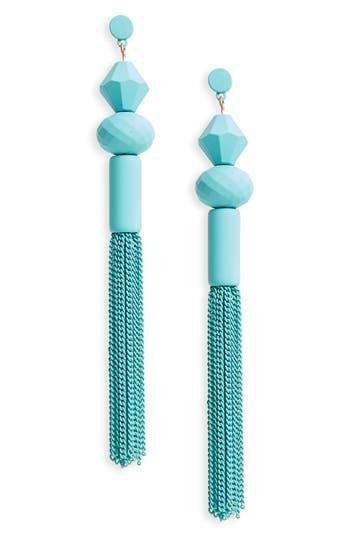 Women's Bp. Geometric Tassel Drop Earrings