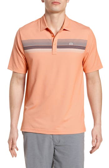Men's Travis Mathew Happy Jelly Regular Fit Polo, Size Small - Pink