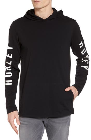 Hurley The One Hoodie Pullover, Black