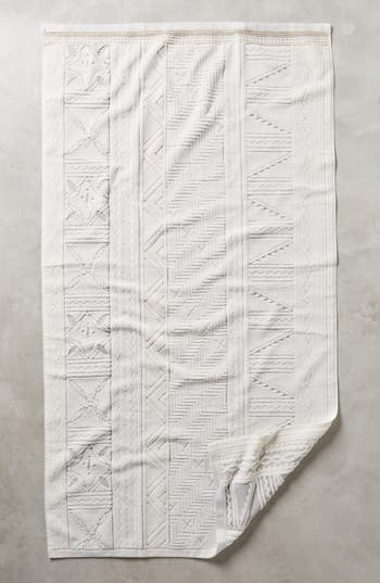 Anthropologie Windstream Bath Towel