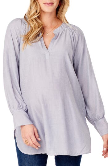 Ingrid & Isabel® Split Neck Maternity Blouse