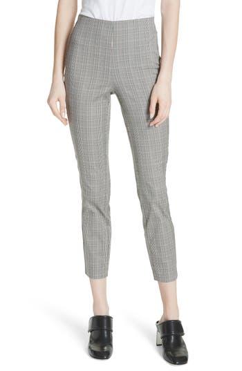 Women's Rag & Bone Simone Glen Plaid Pants, Size 0 - Black