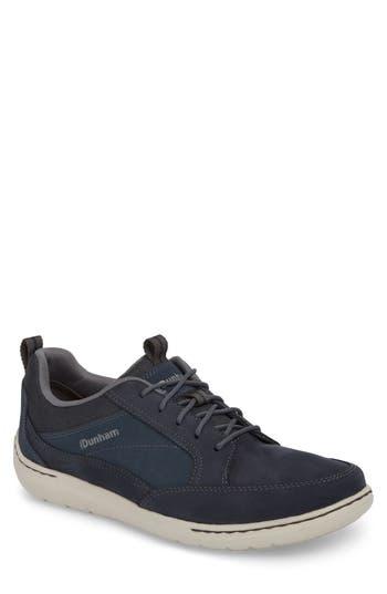 Dunham D Fit Smart Sneaker, EEEE - Blue