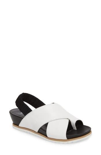 Vaneli Hendra Slingback Sandal, White
