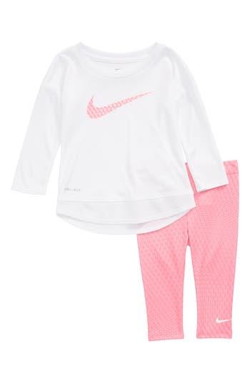 Infant Girls Nike DriFit Tunic  Leggings Set