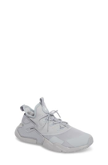 Boys Nike Huarache Run Drift Sneaker Size 4 M  Grey