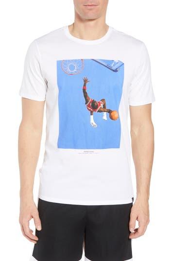Nike Jordan Sports Illustrated Graphic T-Shirt, White