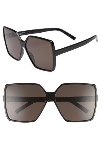 Saint Laurent Betty 6m Sunglasses - Black