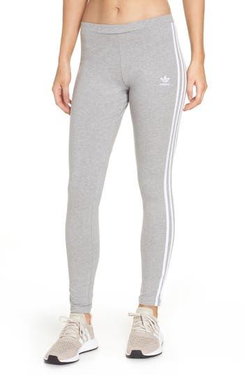 Adidas 3-Stripes Tights, Grey