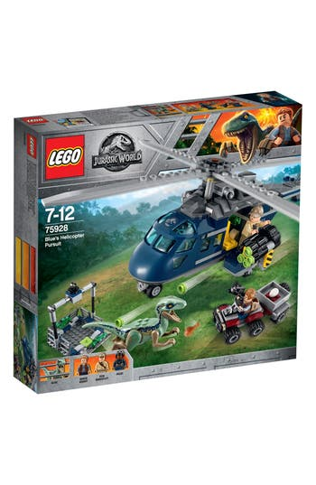 Boys Lego Blues Helicopter Pursuit  75928