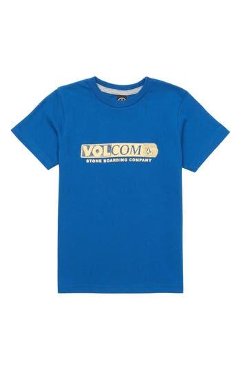Boys Volcom Harsh Fade Graphic TShirt