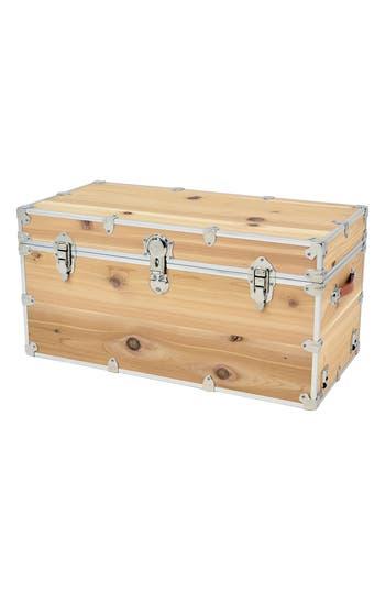 Rhino Trunk  Case Xxl Knotty Cedar Cube Trunk