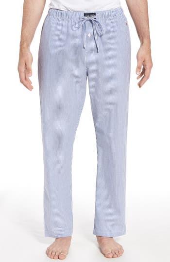 Polo Ralph Lauren Seersucker Pajama Pants, Blue