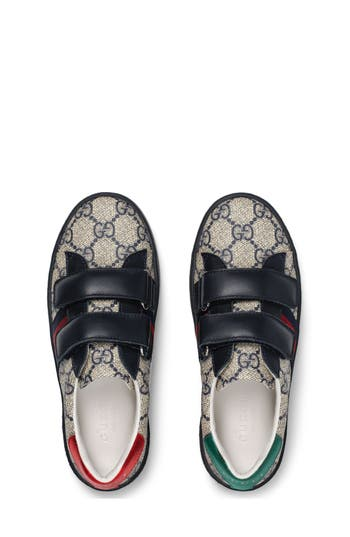 Boys Gucci New Ace Monogram Sneaker