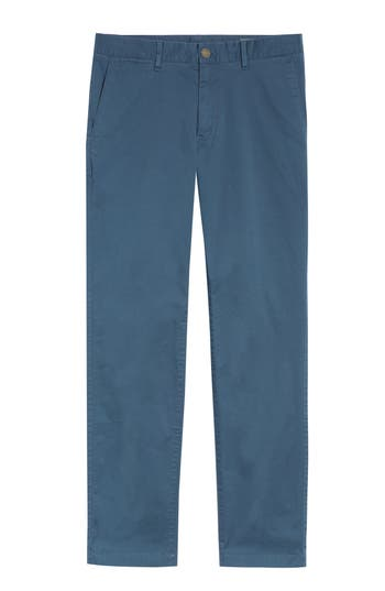 Men's Bonobos Summer Weight Slim Fit Stretch Chinos, Size 36 x 30 - Blue